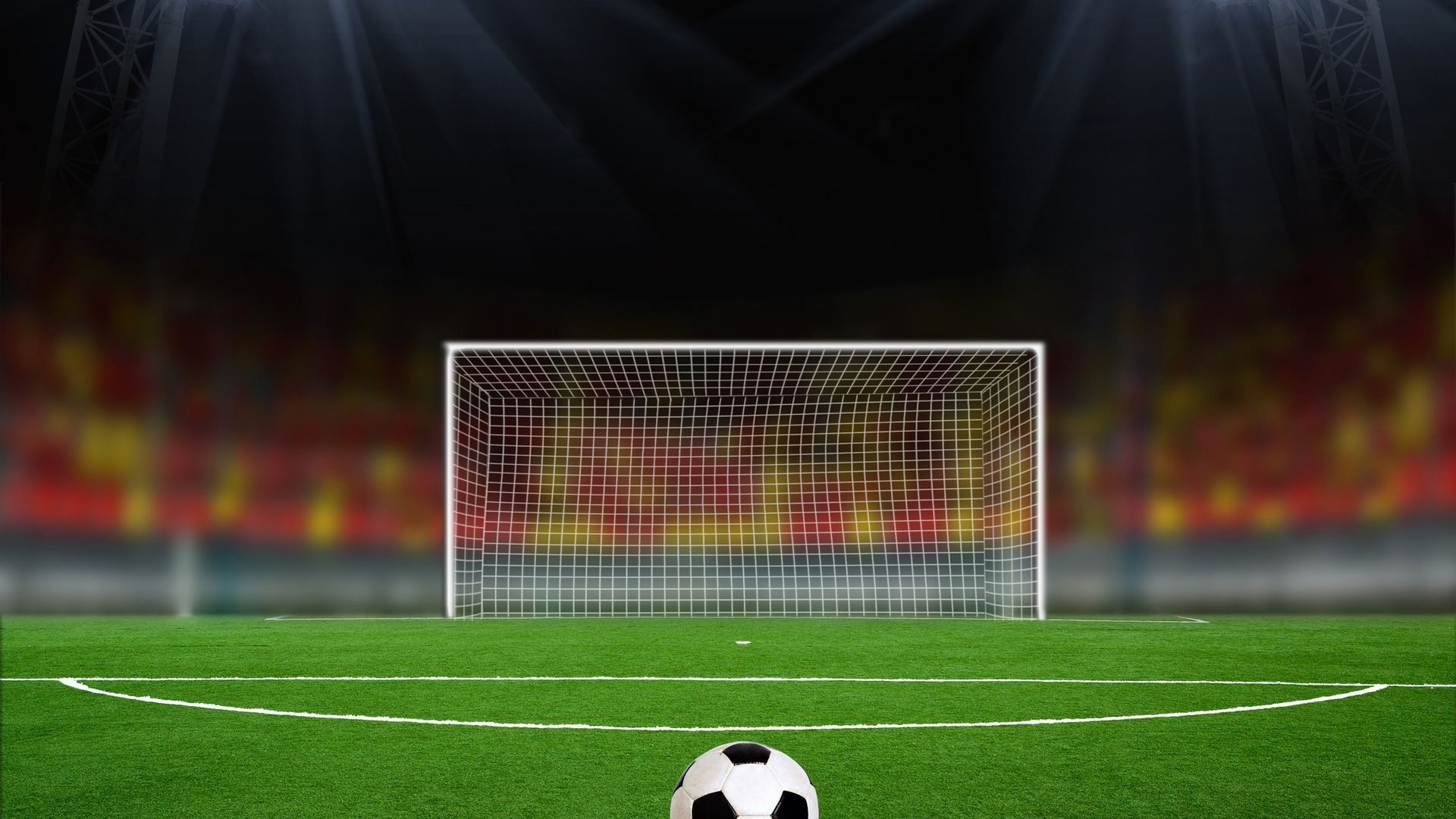 Free Kick The Ball 1080p Hd Wallpaper Football Background Soccer Goal Soccer