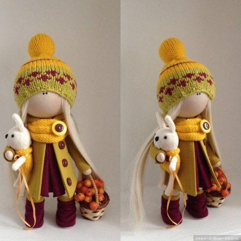 Мои новые интерьерные текстильные куколки / Текстильная ...