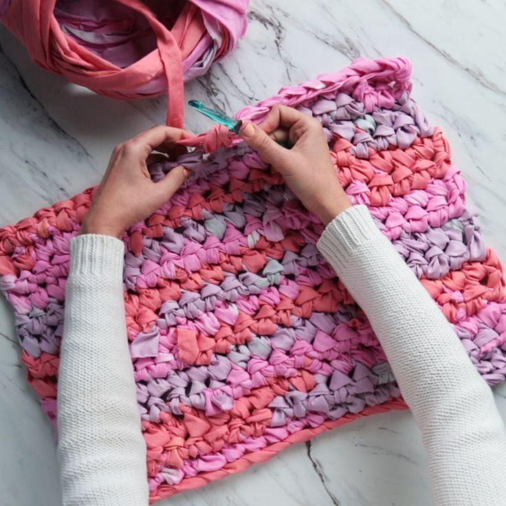 Vom Lumpen zum Teppich mit One Easy DIY #easydiy