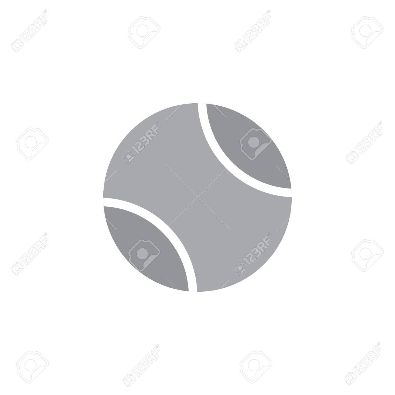 Tennis Ball Icon Vector Illustration Isolated On White Background Illustration Ad Icon Vector Tennis Vector Illustration White Background Pie Chart