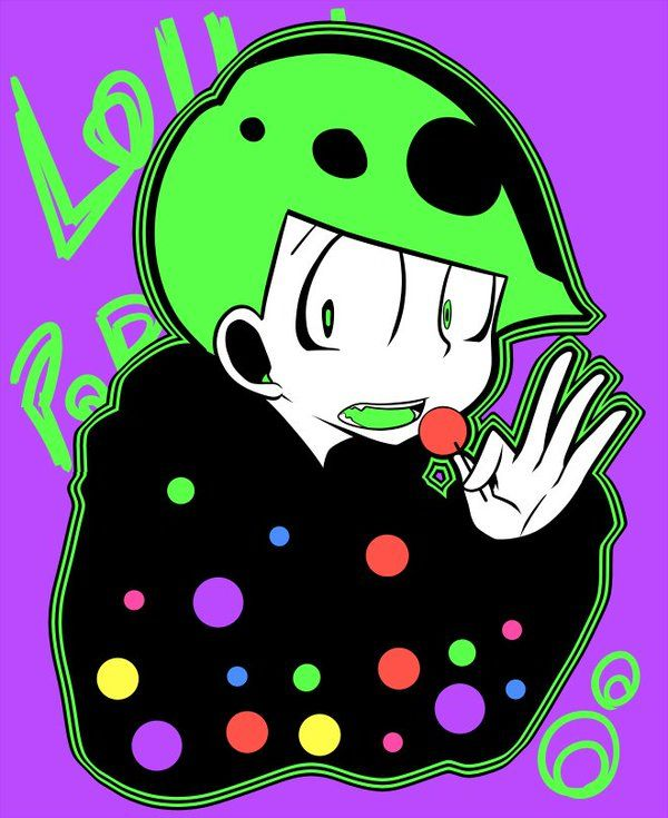 Osomatsu-san- Choromatsu #Anime「♡」Neon Candy