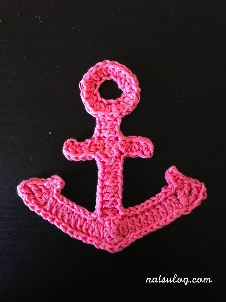 Large chrochet anchor - complicated | Crochet/Knit | Pinterest ...
