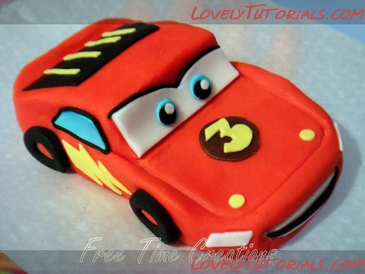 Lightning McQueen car how to