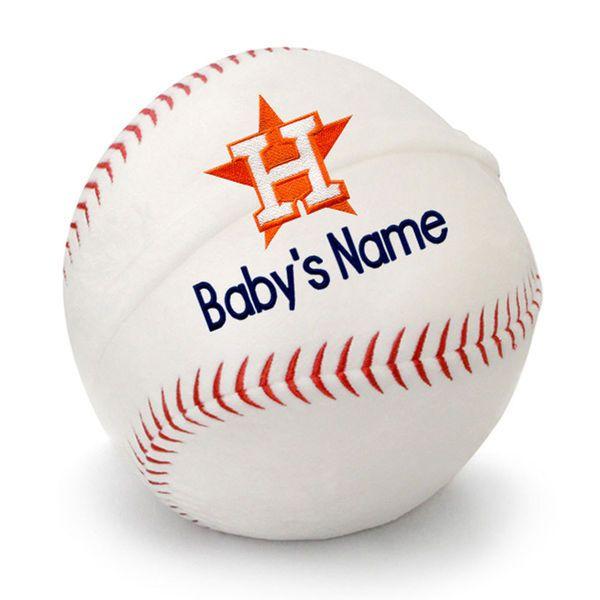 Houston astros personalized plush baby baseball white 4799 houston astros personalized plush baby baseball white 4799 negle Gallery