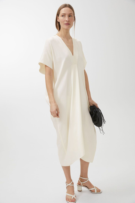 42f297ddeb12 BlackLight BeigeBlackLight BeigeKaftan Dress - Light Beige - Dresses -  ARKET SE