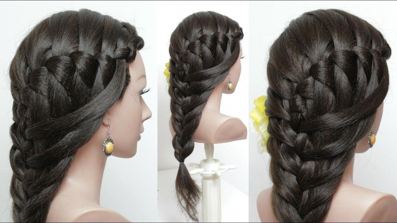 Easy Everyday Braided Hairstyle Hair Tutorial Braidedhairstylesart