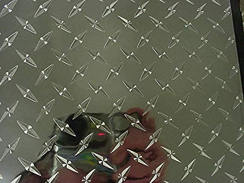 Amazon Com Diamond Plate Sign Vinyl Self Adhesive 12 Inch X 10 Ft Arts Crafts Sewing In 2020 Vinyl Signs Diamond Plate Adhesive