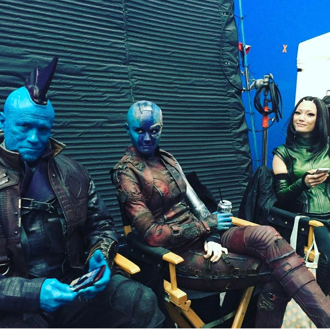 Behind the scenes of guardians vol.2 I love that movie ...