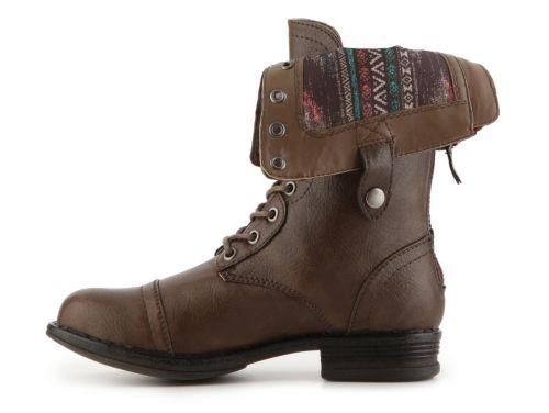 Madden Girl Zorrba Boots folded down