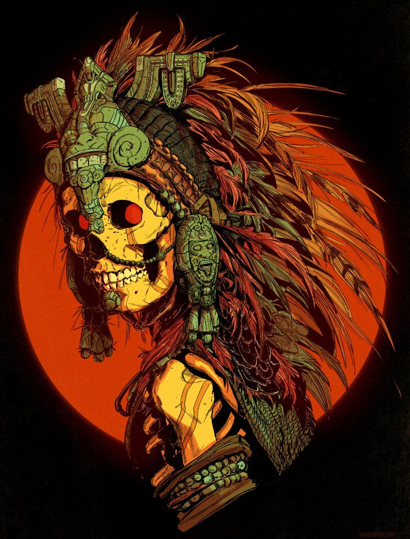 Pin By Victor Chil On Imagenes Que Me Gustan Mexican Culture Art Skull Art Aztec Art