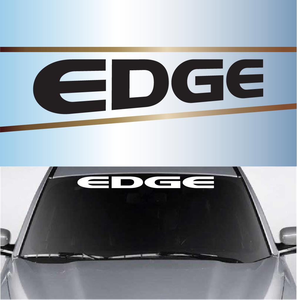 Custom Windshield Decal Banner - Custom vinyl decals for car windshield