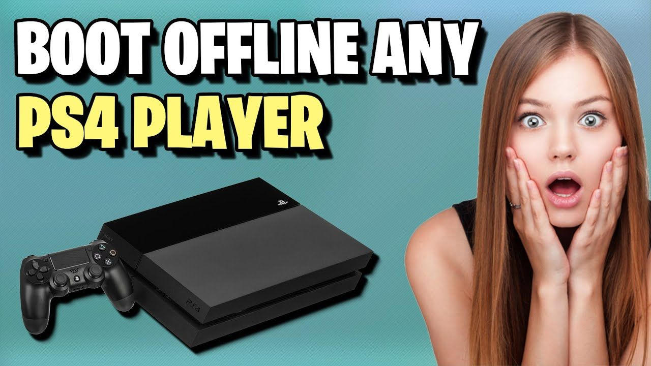 How To Boot Someone Offline On Ps4 Boot Any Playstation Player Offline In 2020 Ps4 Playstation Offline