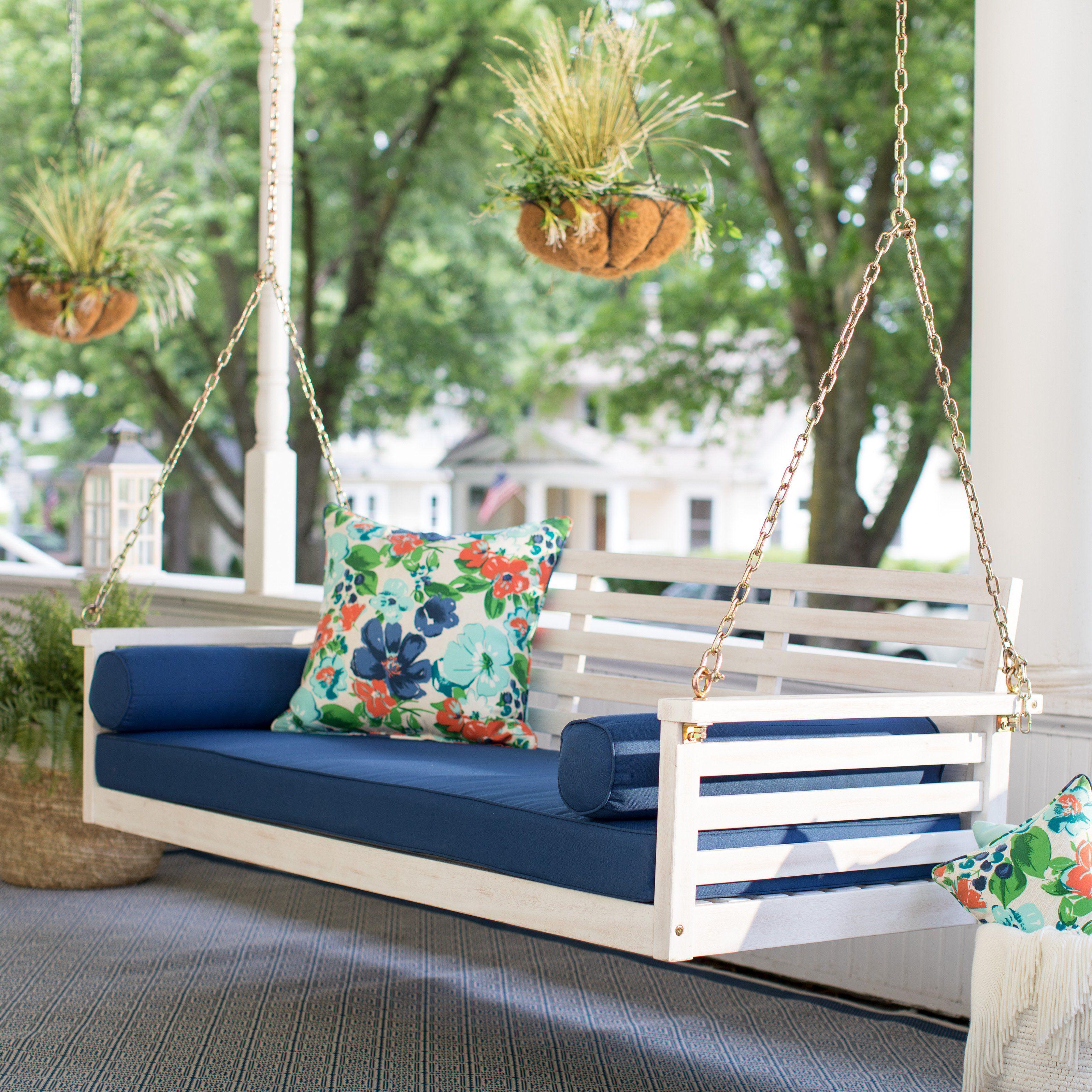Belham living brighton beach deep seating porch swing bed