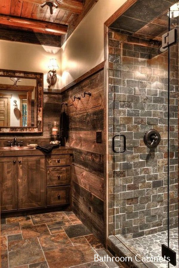 Farmhouse Bathroom Cabinet Diy Western Bathroom Decor Rustic Bathrooms Rustic Bathroom Lighting