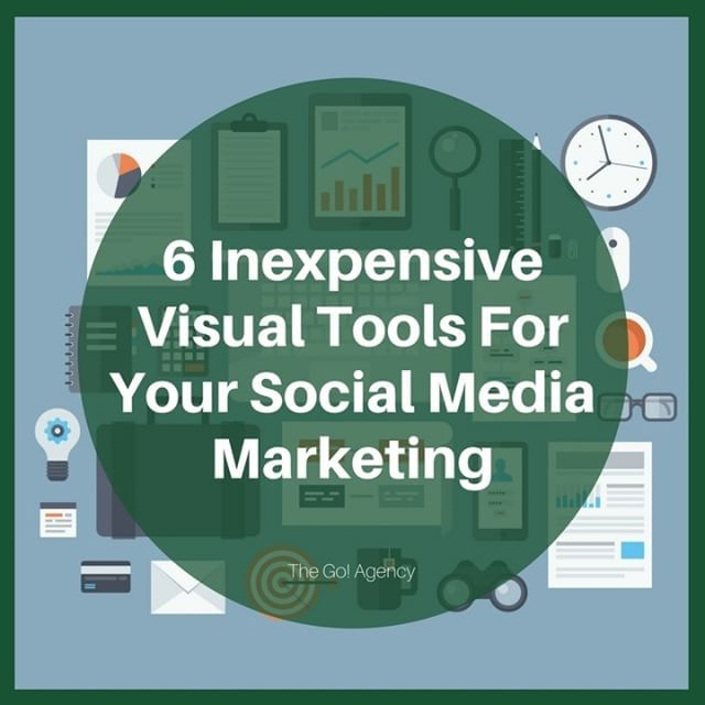 On social media, words aren't enough. You need visuals to improve your content. Find out what inexpensive tools you can use to make them: http://ow.ly/ioos30b8aIh