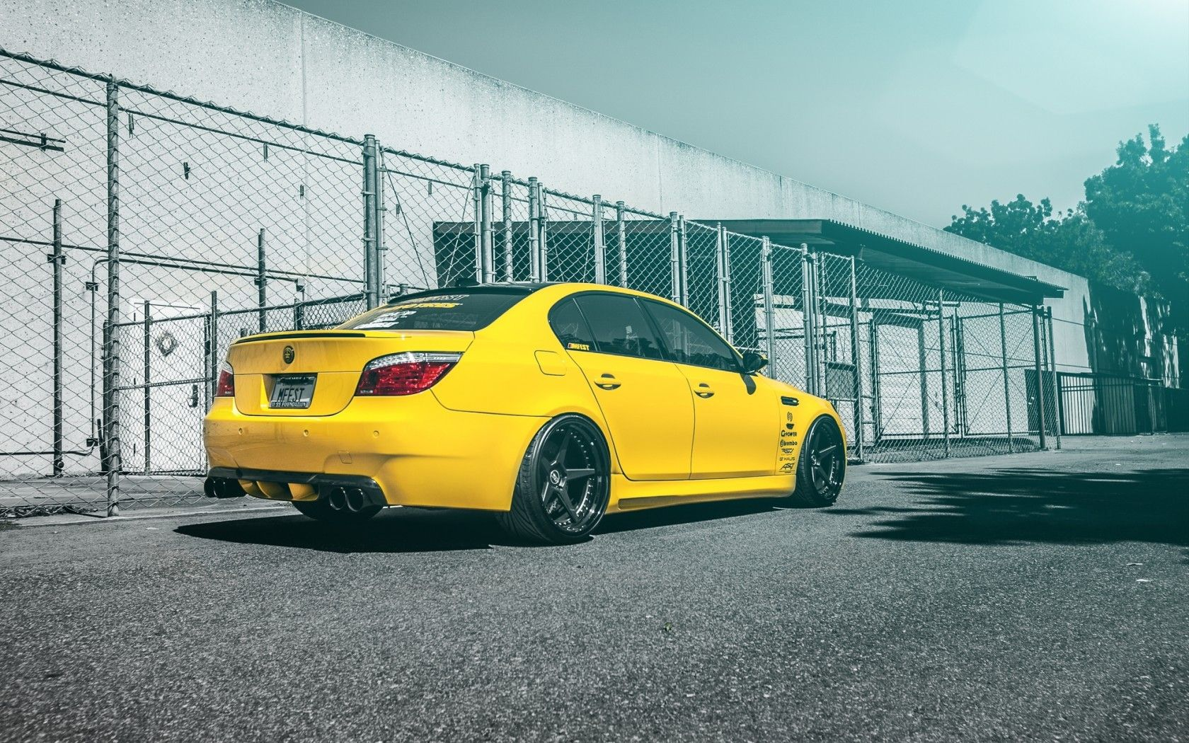 Bmw Er 5 E60 Bmw M5 Bmw Hd Wallpaper Yellow Bmw