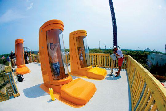 Capsule Water Slide Portaventura Aquatic Park Water Slides Water Fun Salou