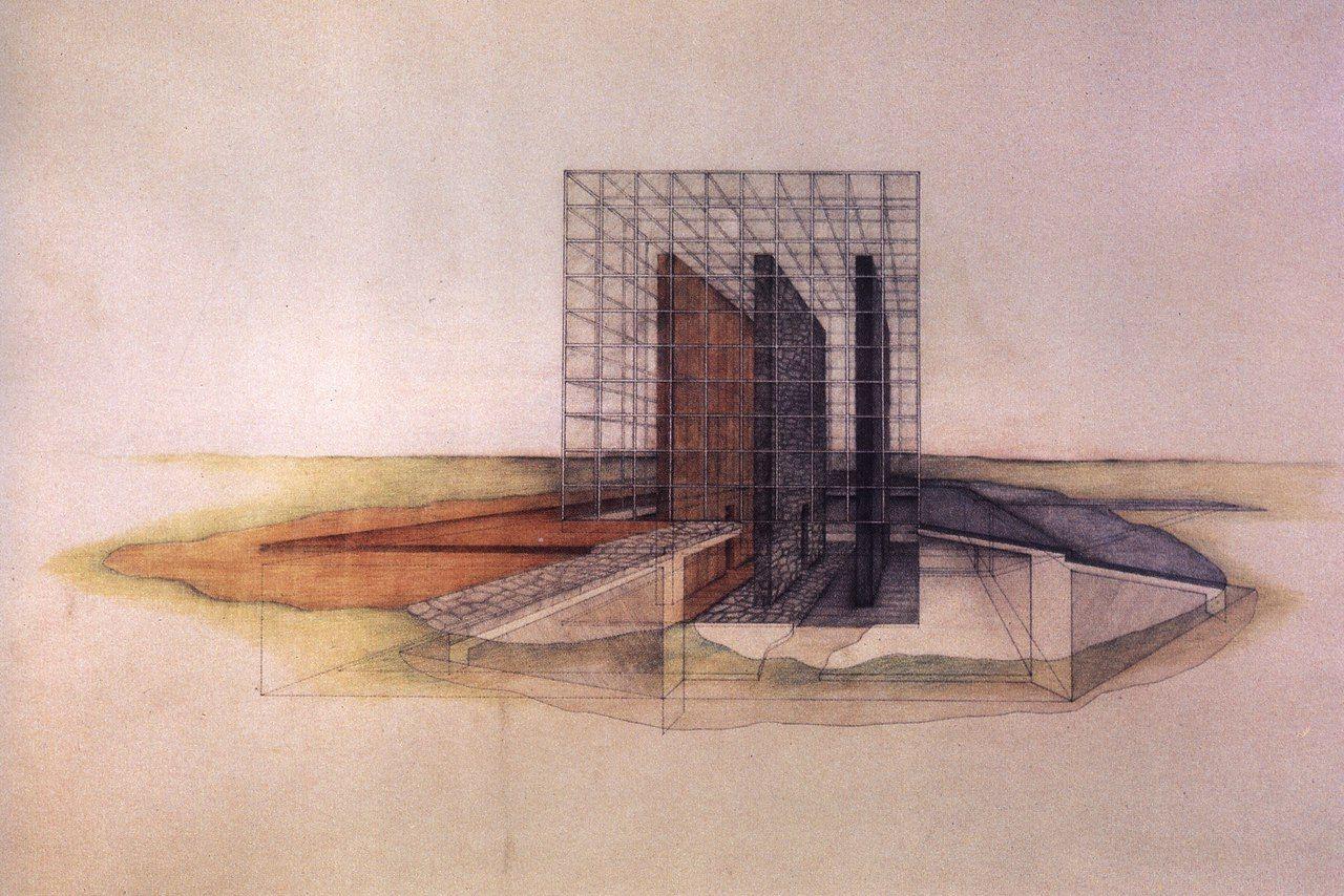 Modernism Postmodernism Contemporary Art Architecture Drawing Architecture Sketch Architecture Drawings