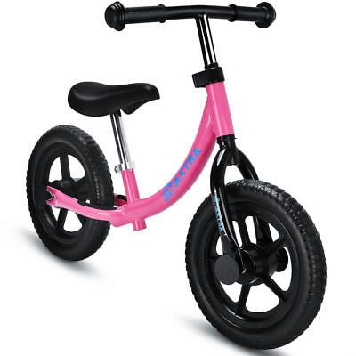 Maxtra Adjustable No Pedal Balance Bike for Kids 2-5 Years Old Pink ...