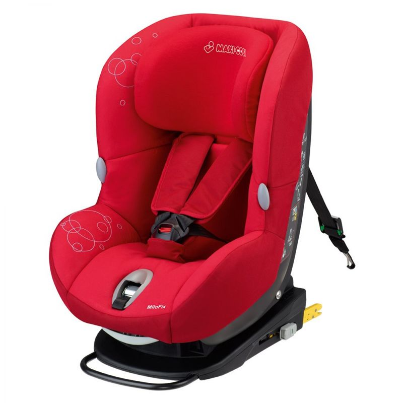 Car Seats Maxi Cosi Milofix 13 Intense Red With Images Car Seats Maxi Cosi Kids Strollers