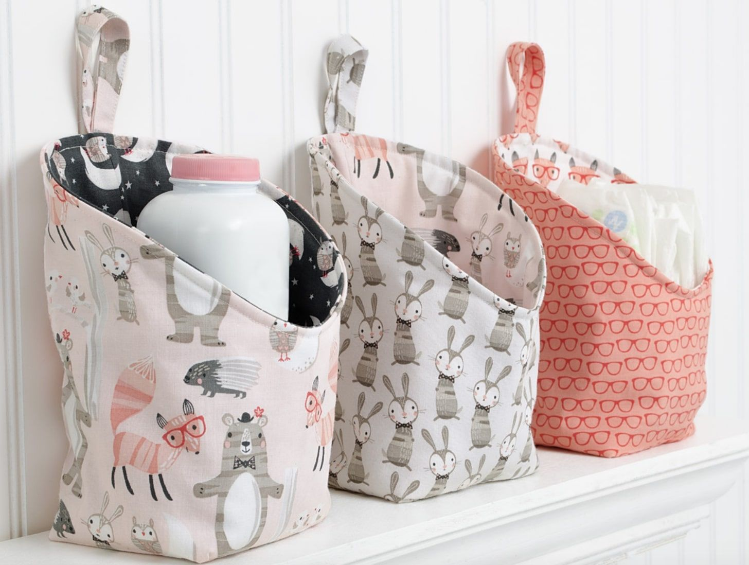 Cute Storage Pods FREE Sewing Pattern and Tutorial | bags, trivets ...