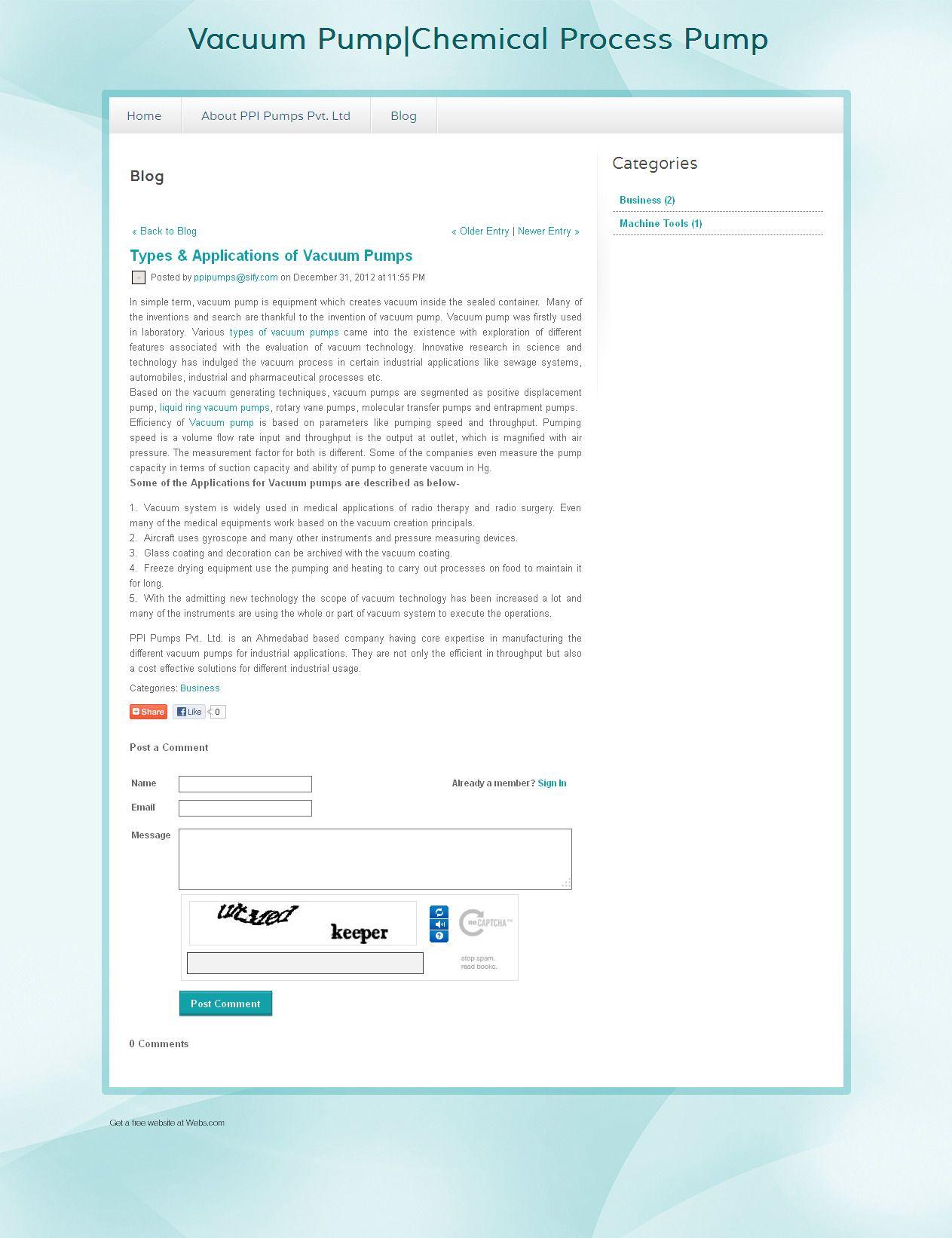 The Blog Explains The Detailed Information Regarding The Vacuum