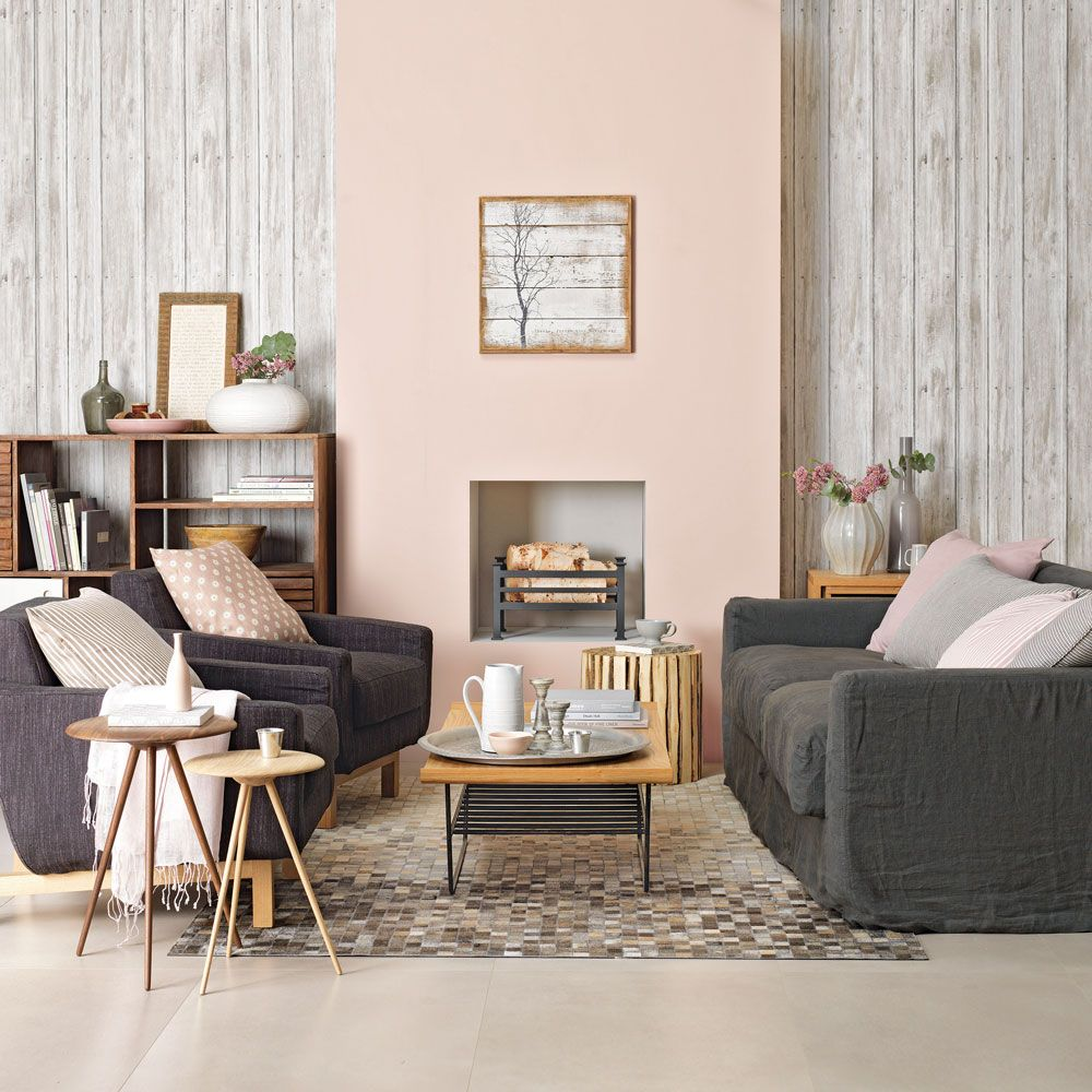 Pink living room ideas to create a sense of romance, sophistication and fun images