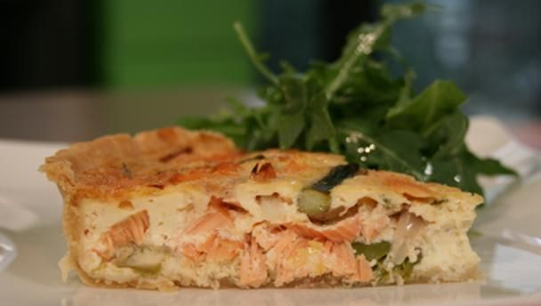 Bbc food recipes salmon and asparagus quiche baking bbc food recipes salmon and asparagus quiche forumfinder Gallery