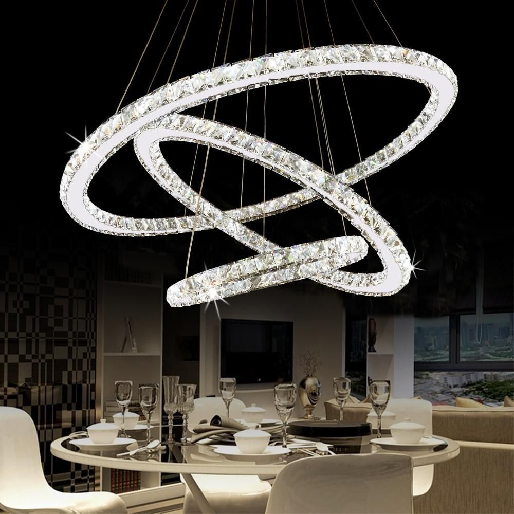 Features Designed To Cast A Soft Ambient Light Over A Wide Area Dimmer No Power Source Ac Style Modern Volt Lustre Cristal Lustre Led Suspension Luminaire