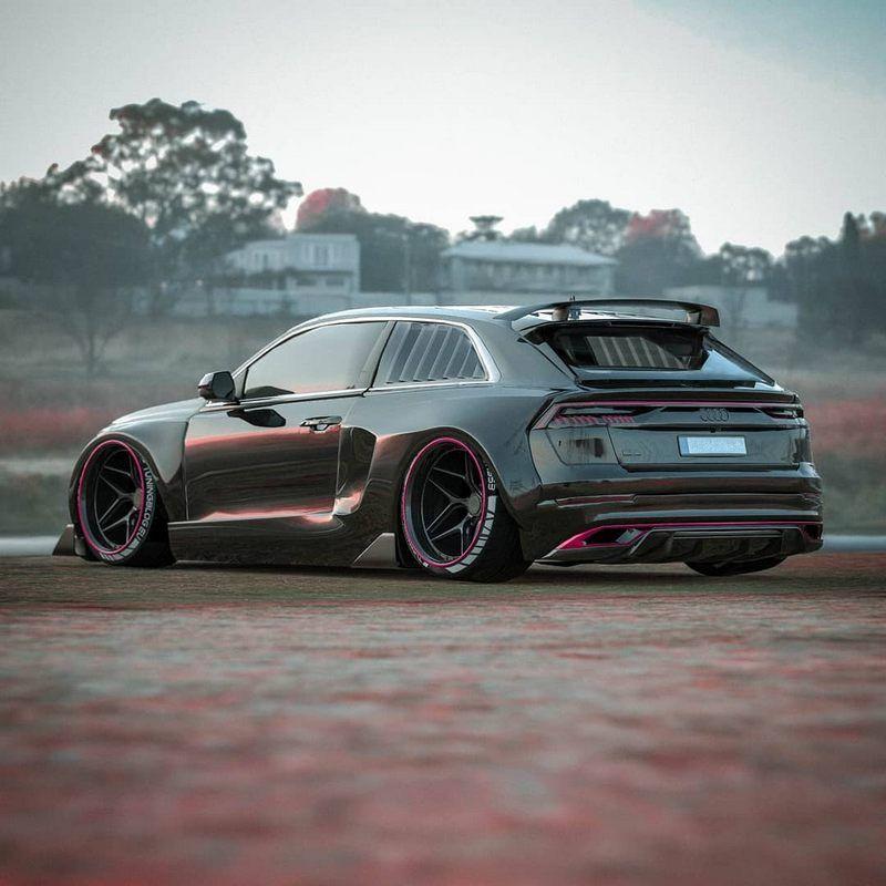 Audi Rsq8 Exclusive Custom Getunte Autos Audi Rs Autos Und Motorrader
