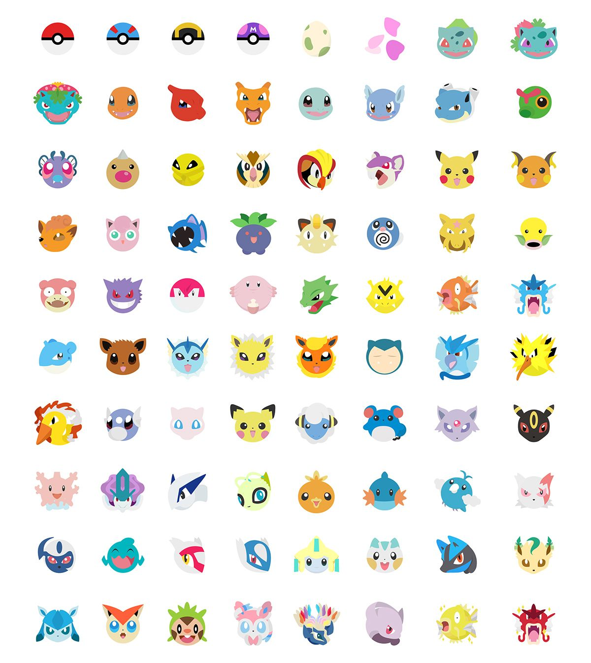 Pokemoji Keyboard On Behance ポケモン ネイル 滅