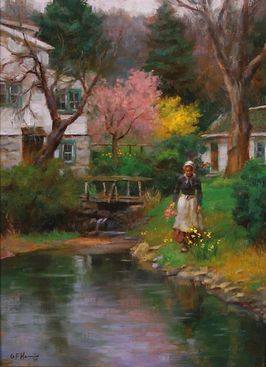 Spring Blossoms. Gregory Frank Harris.