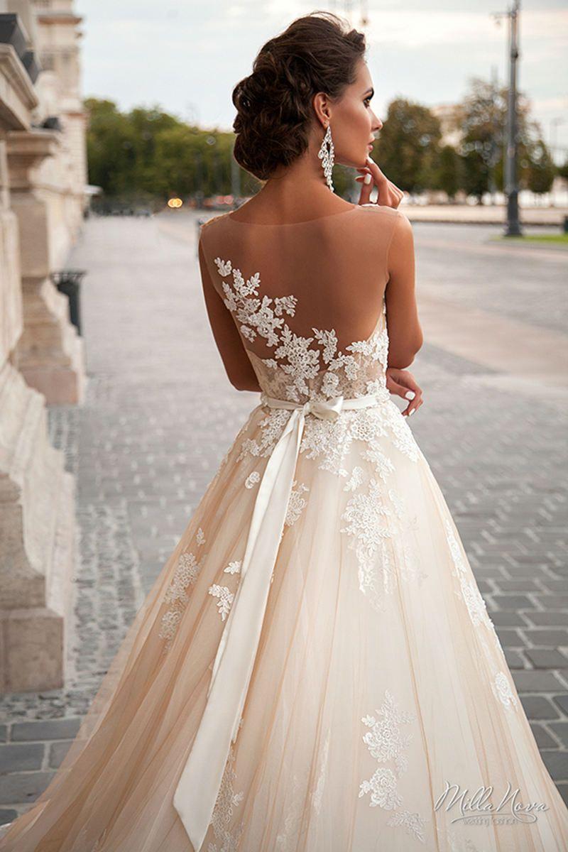 77ed49604e MILLA NOVA 2016 WEDDING DRESSES - Elegant Wedding: Bridal Gowns 2017, Wedding  Trends For 2017, Wedding Ideas, Themes, Cakes, Reception Venues, Montreal,  ...