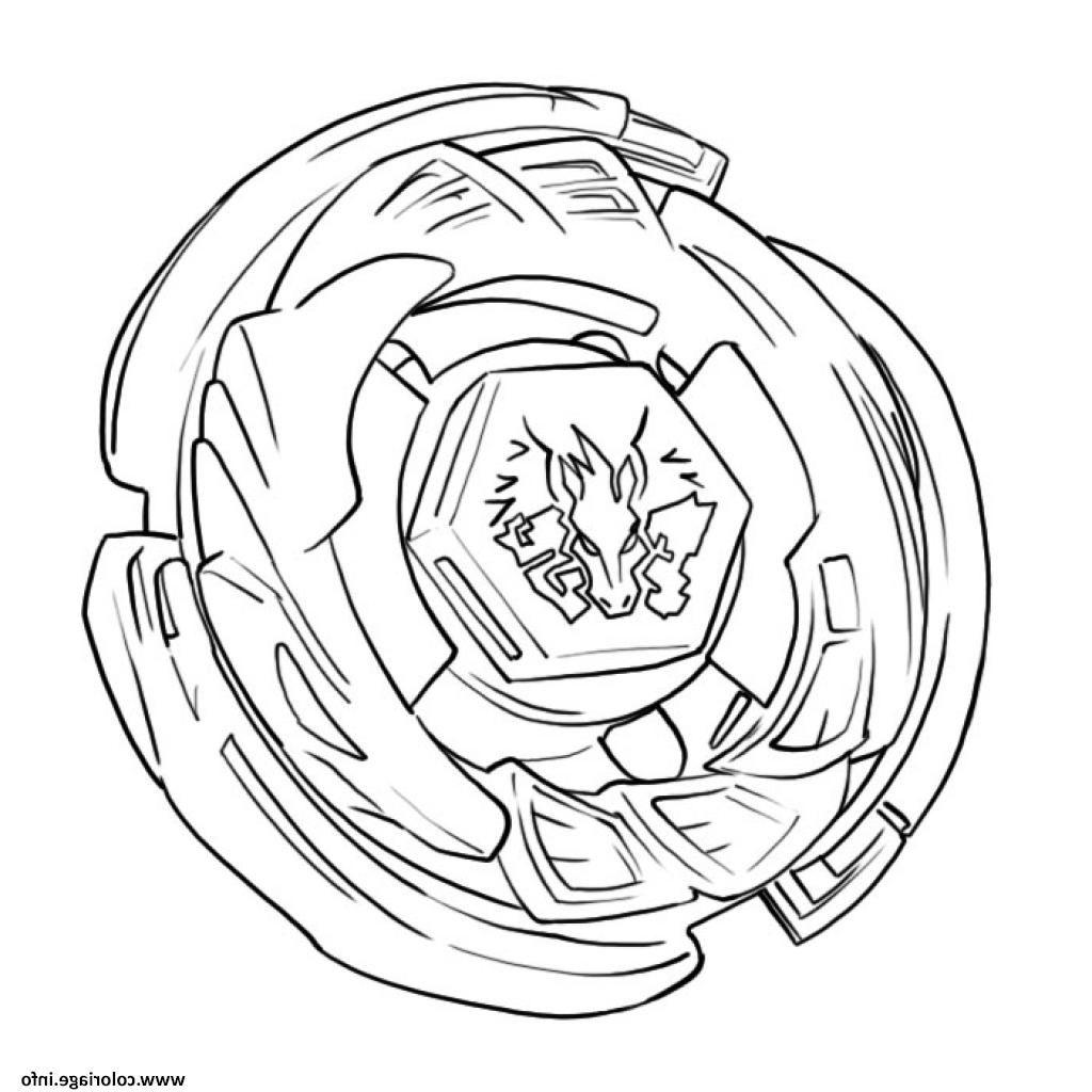 Coloriage Toupie Beyblade Burst Evolution A Imprimer