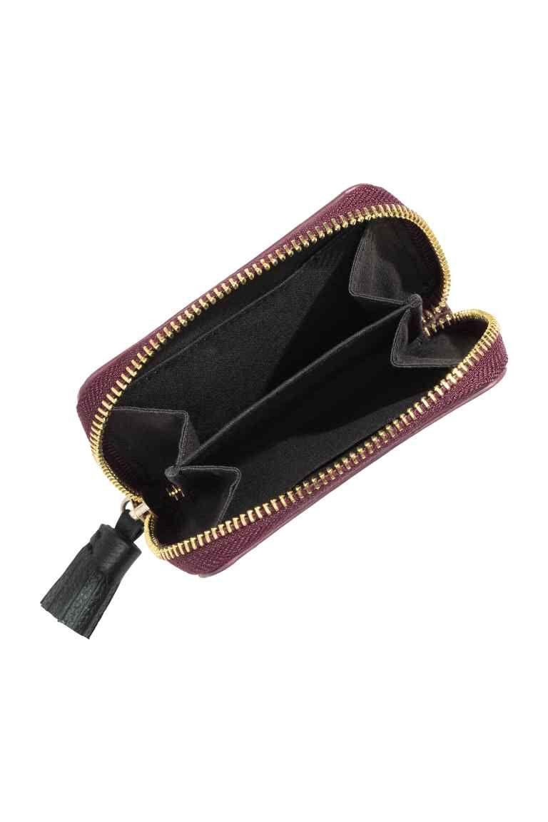 coupe classique rechercher les plus récents Super remise Petit porte-monnaie en cuir | H&M | A C C E S S O R I E S ...