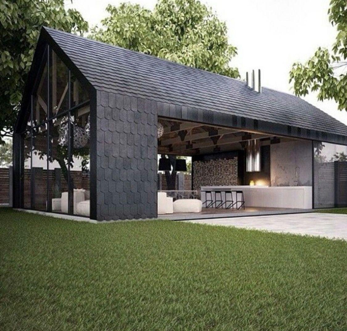 Pin von rob butler auf remodel ideas pinterest haus for Wochenendhaus modern bauen