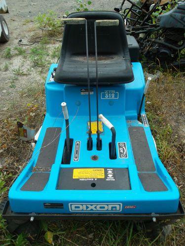 Dixon Ztr 312 Zero Turn Mower Zero Turn Mowers Mower Landscaping Equipment