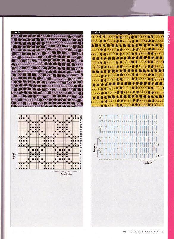 Para ti guia de puntos crochet filet - Isabel Cristina Mejia ...