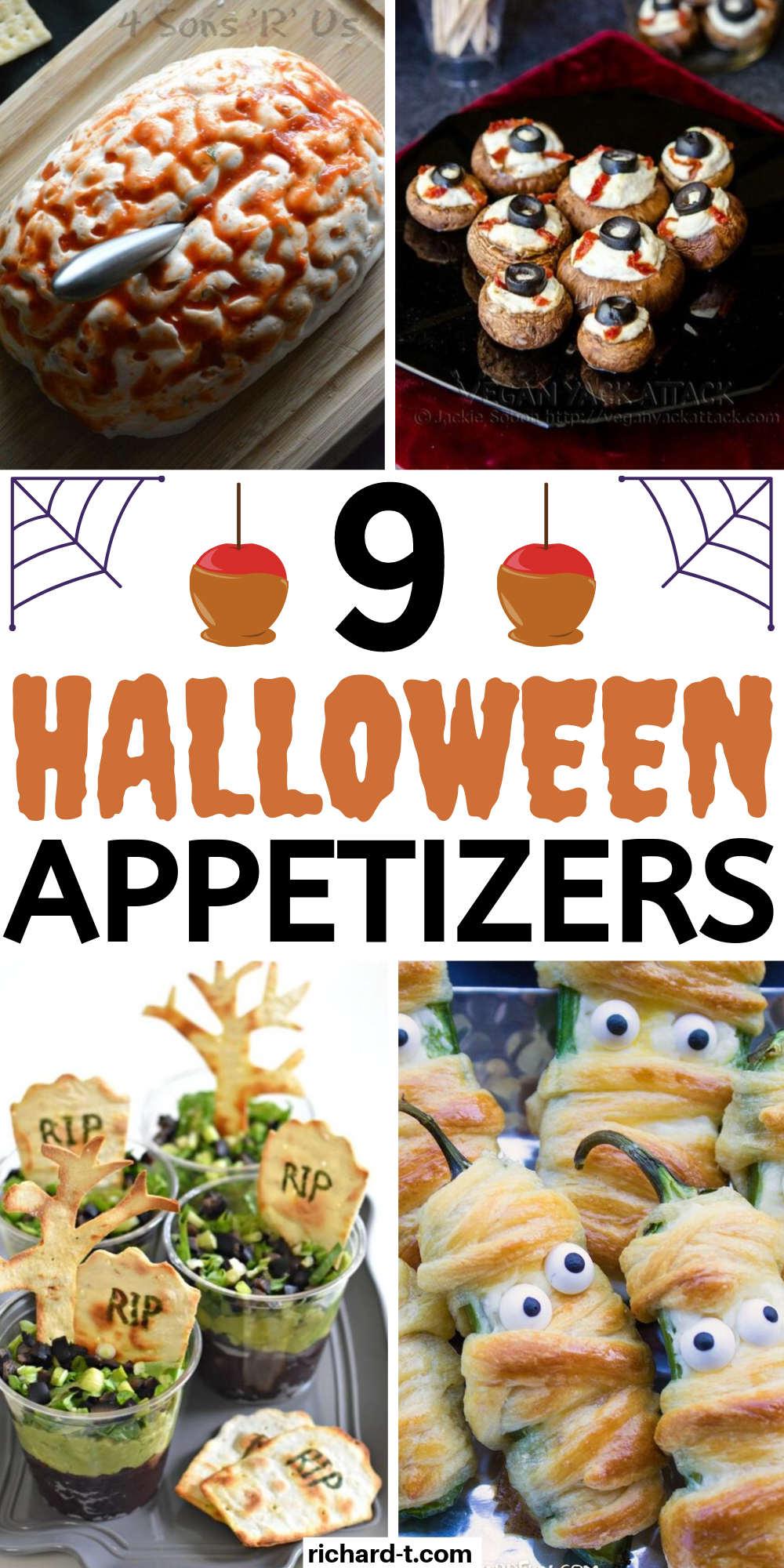 9 Halloween Appetizers That Are Delicious & Spooky