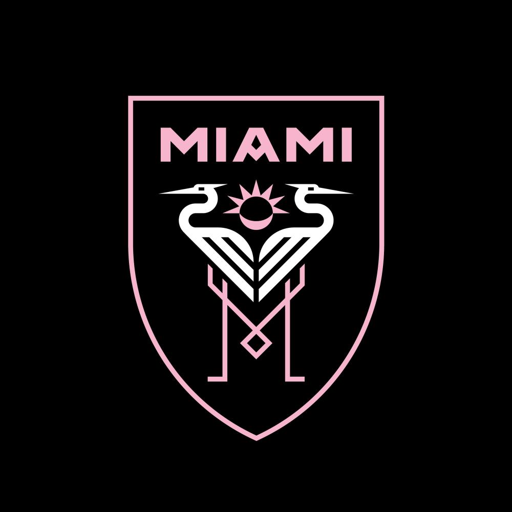 Brand New New Logo For Club Internacional De Futbol Miami By Doubleday Cartwright Football Logo Design Sports Brand Logos Sports Logo Design
