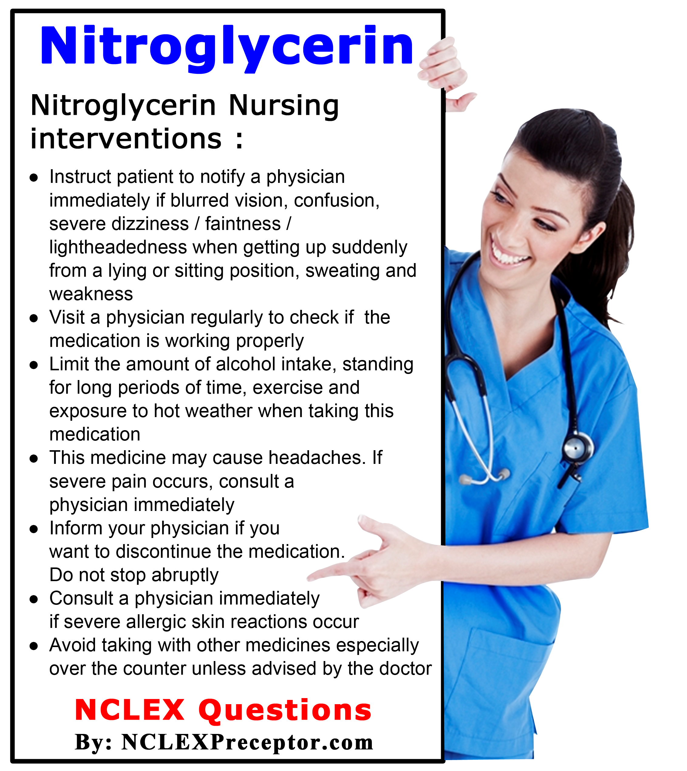 nursing prep notes nclex This page was designed so you can easily find all of our nclex review lectures,  quizzes, and notes be sure to save this page so you can easily come back and.
