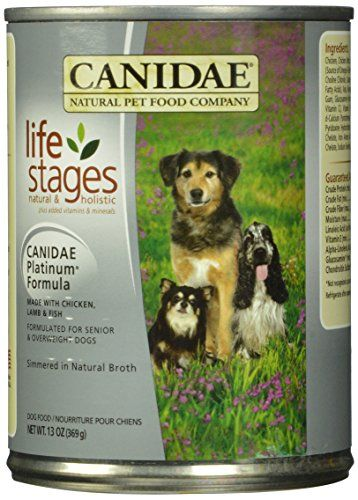Canidae All Life Stages Platinum Less Active Dog Wet Food Chicken