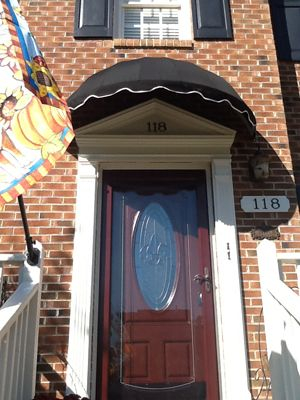 Dome Style Awning Photos, EasyAwn Do-It-Yourself Awning ...