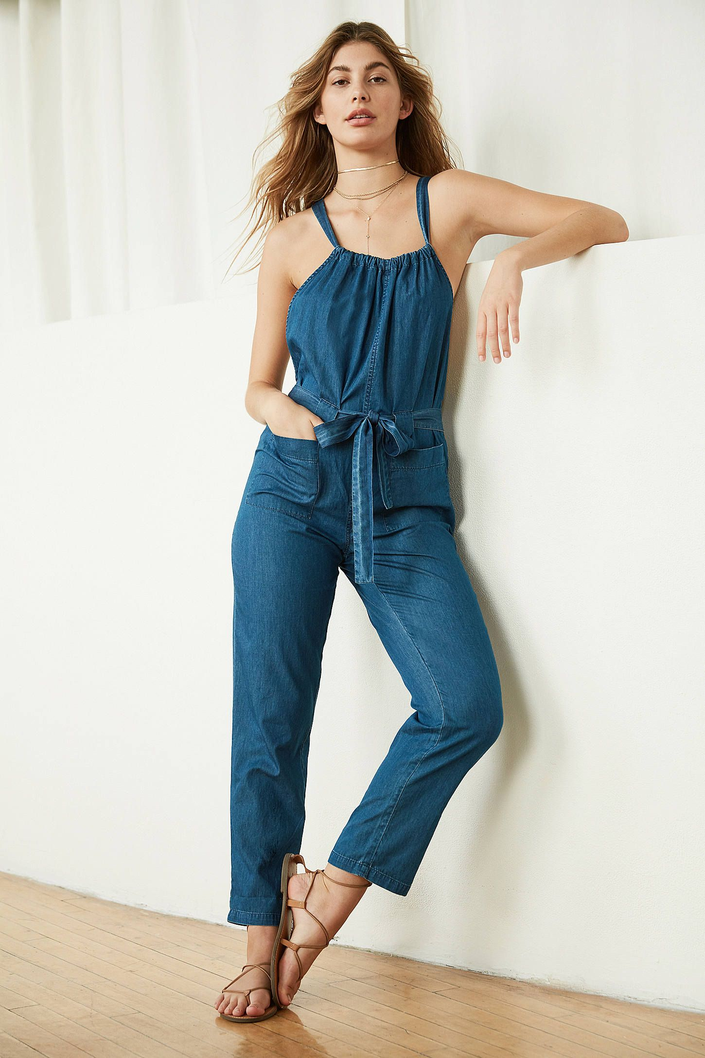 bcbf35ce BDG Josephine Chambray Overall Jumpsuit | My Style | Jumpsuit ...