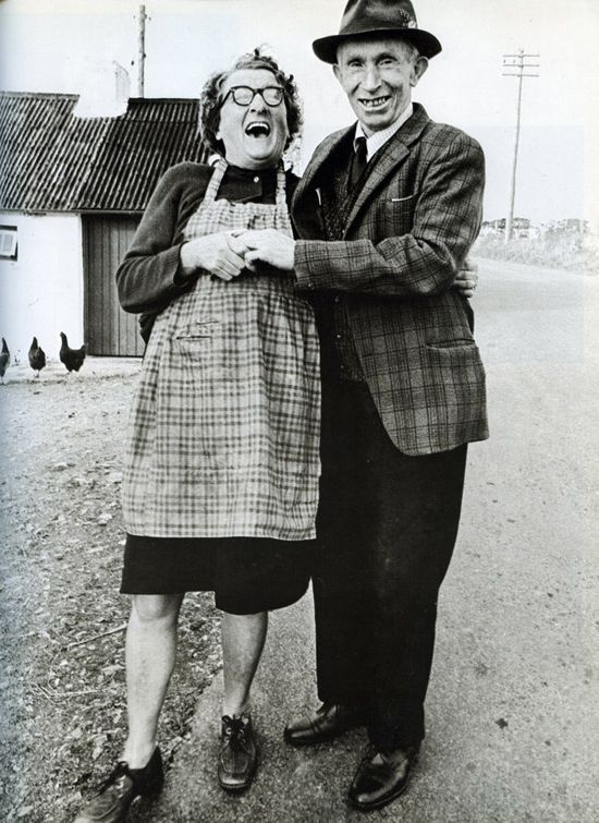 Vintage Photograph Happy Couple With A Shared Love Of
