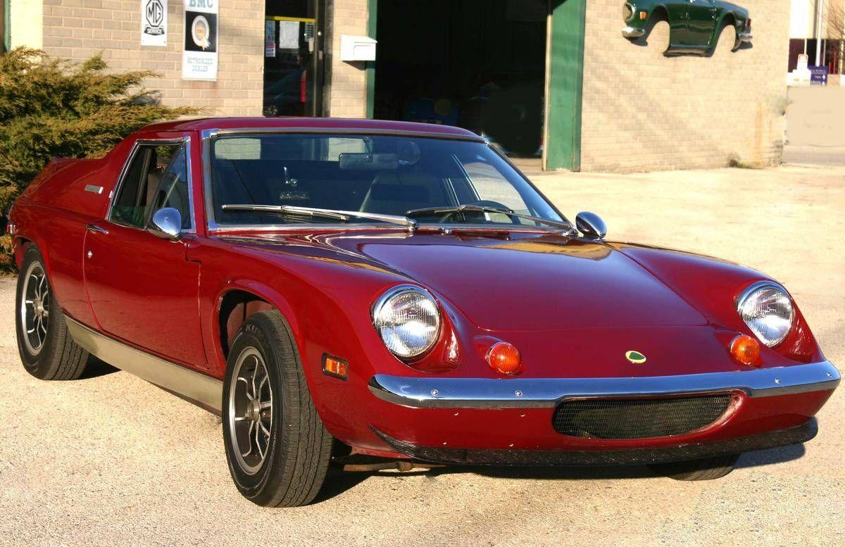 1973 Lotus Europa British sports cars, Lotus car, Lotus