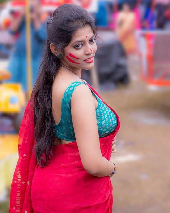 Beautiful Fashion Bengali Saree Sexygirl Style Amazing Girl
