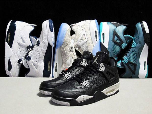 Air Jordan IV (4) Retro Releases For Spring 2015