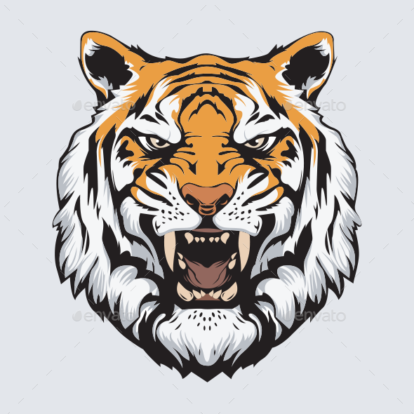 Tiger Head Vector Ad Tiger Affiliate Head Vector Tiger Face Drawing Tiger Pictures Tiger Face