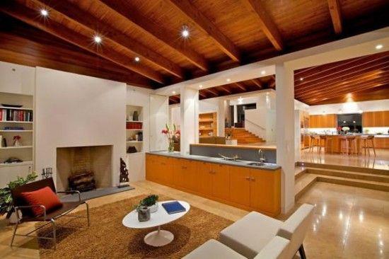 Decoracin de techos de madera techos Pinterest